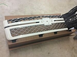 2012 2013 Chevrolet Olympic White Silverado Front Grille Without Emblem Oem
