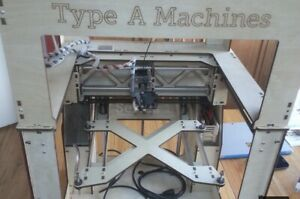 Type A Machines Series 1 3d Printer With Many Extras Nozzle And Lots Of Filament