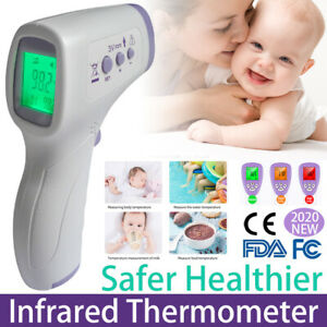 100 Tested Fda ce New Lcd Digital Infrared Thermometer Non contact Temperature