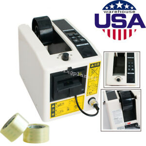 Automatic Tape Dispensers Adhesive Cutter Cutting Packaging Machine 3 Digit Led