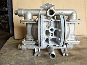 Wilden 1 Stainless Diaphragm Pump 4281229j Used