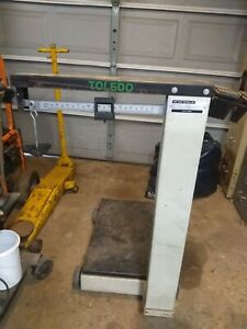 Used Mettler Toledo Industrial Scale Model 4182a 1000lb Capacity