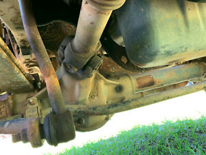Ford F 550 4x4 Front Axle 2008