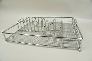 Desk Organizer Metal 12 Inches By 9 1 2 Inches For Mail Pencils And Pens More