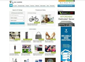 Classifieds Website For Sale Free Install Hosting With Ssl