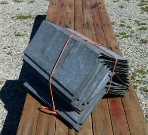 25 Old Galvanized Sap Bucket Covers Lids Peaked Roof Top Maple Syrup Need More