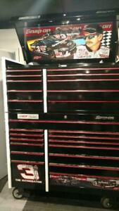 Snap On Limited Edition Dale Earnhardt Sr And Dale Earnhardt Jr Tool Boxes