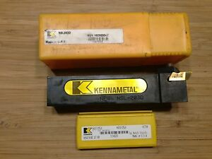 Kennametal Threading Tool Holder Nsl 203d 1 1 4 Sq Sh 6 oal Lh 5 Inserts New