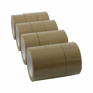 36 Rolls Carton Sealing Brown Packing Tape Shipping 2 5 Mil 2 X 110 Yards