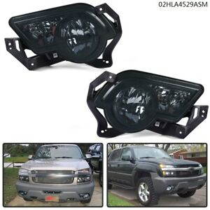 For Chevrolet Avanlanche 2002 2006 silverado 2003 2004 Smoke Fog Light Assembly