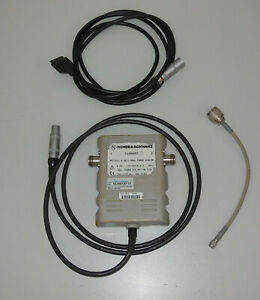 Rohde Schwarz Nrt z44 Directional Power Sensor 1081 1309 02 0 2 4ghz Cable