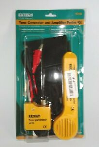 Extech 40180 Tone Generator And Amplifier Probe Circuit Finder Kit