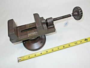 Bench Swivel Vise 2 11 32 Wide Jaws Opens To 2 3 4 Weighs 8 Lbs 7 Oz