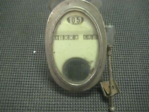 Antique Stewart Speedometer Gauge Dash Cluster