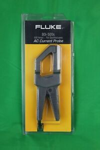 Fluke 80i 500s Ac Current Probe 500 Amps Brand New Sealed