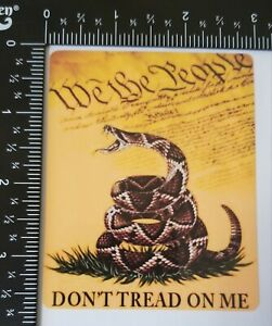 Don T Tread On Me Phone Laptop Rear Window Decal Sticker 2 6x3 6 Inch