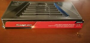Snap On 7 Piece Wrench Set Odhm707b Tray Only