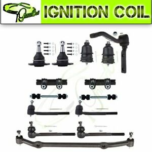 14x Fits 1978 1987 Oldsmobile Cutlass Supreme Tie Rod Ball Joint Suspension Kit