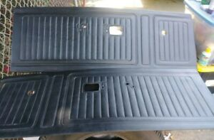 1972 Plymouth Duster Interior Door Panels