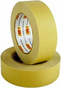 Lauco Premium Yellow Automotive Masking Tape Full Case