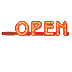 Led Marquee Lighted Letters Open Sign 18 5 W X 4 65 H X 0 55 D Inches