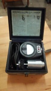 Ideal Electric Tachometer 0 To 2500 Rpm Vintage Electronics