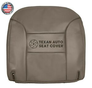 95 96 97 98 99 Chevy Tahoe 2 Dr Sport Lt Ls Driver Bottom Leather Seat Cover Tan