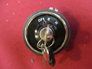 Lucas Headlamp Ignition Switch With Barrel And Keys Mg Tc Td Land Rover S I New