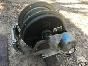 Hannay Hydraulic Hose Reel For Hurst Cutter Spreader Separator Jaws Of Life Fire