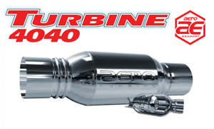 Aero Turbine Performance Exhaust 4 Muffler At4040
