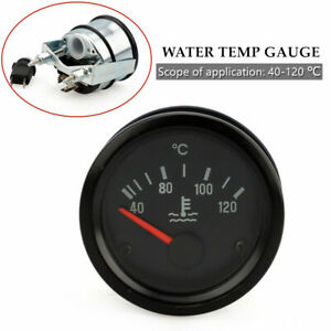 24v Modified Water Temperature Gauge 40 120 Water Temp Gauge Kit 2 Inches 52mm