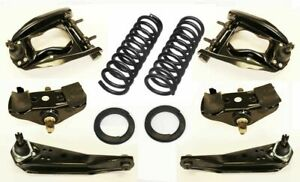1967 Mustang Suspension Kit Upper Lower Control Arms Spring Saddles Coil Springs
