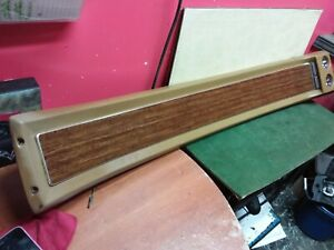 1967 1968 Ford Mustang Coupe Roof Console With Map Lights Tan Used Oem
