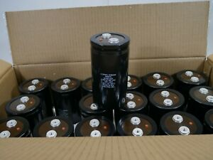 Used Cornell Dubilier 400v 6300uf Terminal Super capacitors