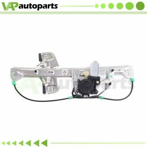Power Window Regulator For 2000 2005 Cadillac Deville Rear Rh W Motor