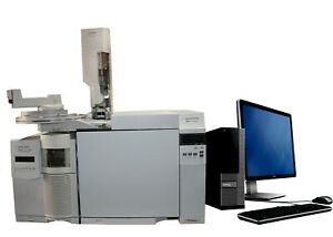 Agilent 7820a Gc With 5975c Msd 7683 Injector
