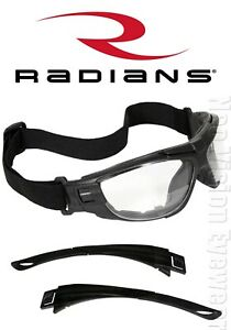 Radians Cuatro 4 in 1 Bifocal clear anti Fog Safety Glasses Goggles Foam Padded