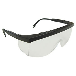 Radians Galaxy Clear anti Fog Fit Over Most Safety Glasses Large Telescoping