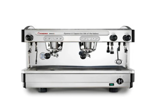 New Faema E98 2 Group Automatic Commercial Espresso Machine black Stainless