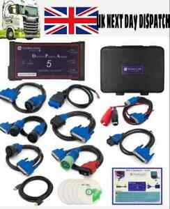 Diesel Diagnostic Laptop Scanner Tool Heavy Duty Detroit Volvo Cummins Detroit