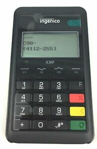 Ingenico Icmp Mobile Pos Terminal With Msr Chip Reader Icm122 31p2648a Lot 7