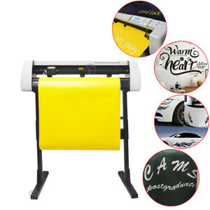 28 Vinyl Cutter Plotter Decals Sign Cutting Machine W Software Sticker Making