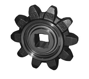 10 Tooth Idler Sprocket Assembly 503664 Fits Case astec Trencher Models