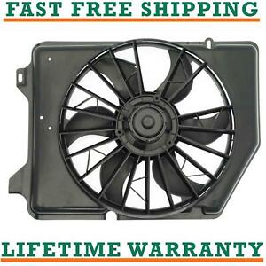 Radiator Condenser Fan For 92 93 Ford Fits Taurus 3 0l V6 Free Shipping