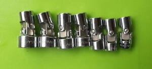 Vintage S k 7 pc Universal Sae Socket Set 3 8 drive 6 Point Usa New