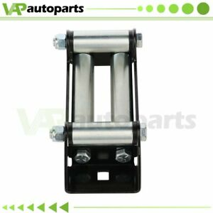 Steel Cable 4 Way Roller Cable Guide Roller Fairlead 4000 5000lbs Off Road Winch