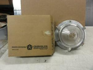 Vintage Nos 1957 Plymouth Front Turn Signal Lens 1689859