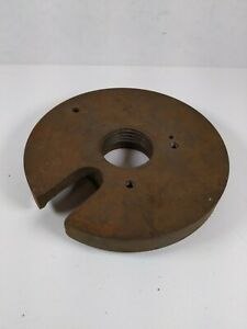 Atlas Craftsman 10 12 Lathe Face Drive Plate 1 1 2 8 South Bend Logan