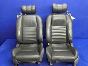 2002 2005 Ford Thunderbird T Bird Oem Leather 6 Way Power Seats Driver Passenger