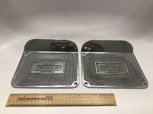 Early Chevy Car Pickup Truck Street Rod Side Step Plates 20s 30s Chevrolet Alum